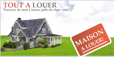 maisons a louer les petite annonce class gratuite chercher annoncer louer sur maisons. Black Bedroom Furniture Sets. Home Design Ideas
